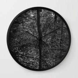 VValk in the VVoods Wall Clock