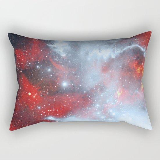 Fire to the Stars Rectangular Pillow