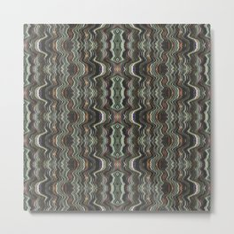 Indian decorative paper for home decoration. Metal Print