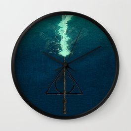 Harry Potter Deathly Hollows Expecto Patronum Wall Clock