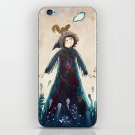 Declaration of winter iPhone Skin