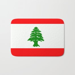 Flag of Lebanon Bath Mat