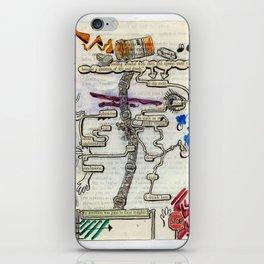 Break Through iPhone Skin