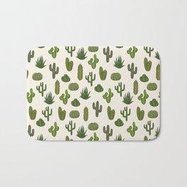 Cacti parade Bath Mat