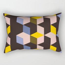 Cube city Rectangular Pillow