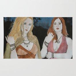 Velleda und Aurinia Rug