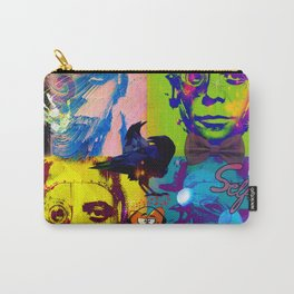 Dead and Famous: Lou Reed (The Velvet Underground) Carry-All Pouch