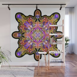 Jellyfish Mandala Wall Mural