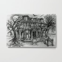 Old Victorian Queen Metal Print
