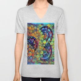 Dazed circles Unisex V-Neck