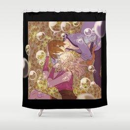 Utakata and Hotaru Shower Curtain