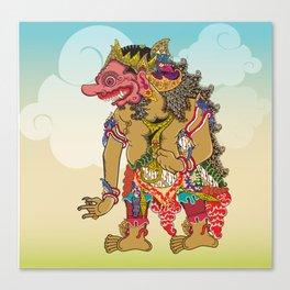 Kumbakarna character in Ramayana story Canvas Print