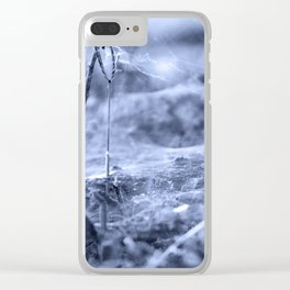 Webb of Shrubbery Clear iPhone Case