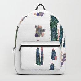 Watercolor Catus Backpack