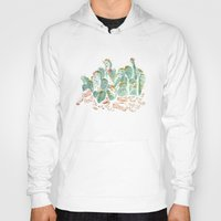 cacti Hoodies featuring Cacti Print by kara tinsley