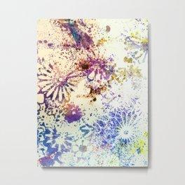Experimental Flowers Metal Print