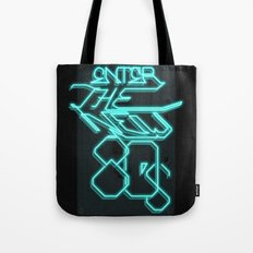 Enter the new 80s Tote Bag
