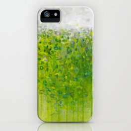 Mist on Green iPhone Case