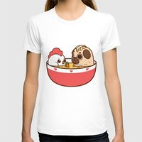 T-shirts featuring Chicken Noodle Puglie Soup by Puglie Pug