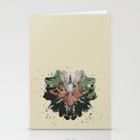 camouflage Stationery Cards featuring CAMOUFLAGE by GEEKY CREATOR