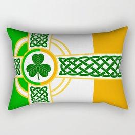 Celtic Irish Flag Rectangular Pillow