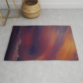 A storm  approaches  Rug