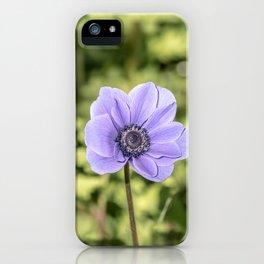 Pretty Purple Flower iPhone Case