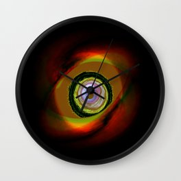 Feral Point of View Wall Clock