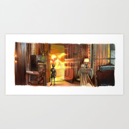 Close Encounters of the Third Kind - Toys! Art Print