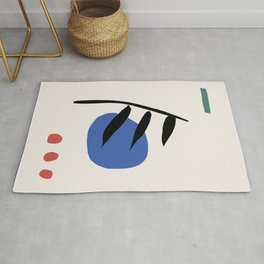 Abstract Print No. 2 Rug