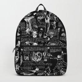 Da Vinci's Anatomy Sketchbook Backpack