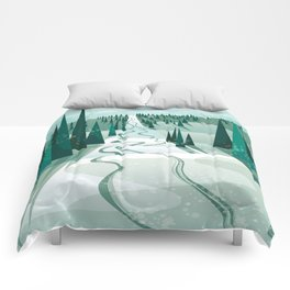 Winter Slope Comforters