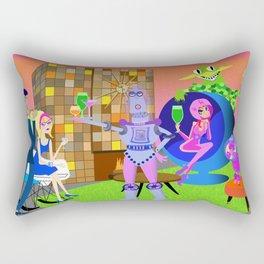 Cheer to the future! Rectangular Pillow