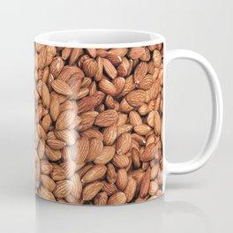 Organic Almond Photo Food Pattern Coffee Mug