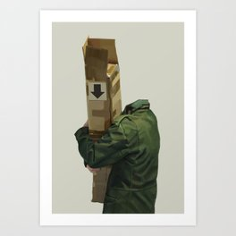 you're holding it wrong Art Print