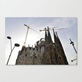 Constant Construction Canvas Print