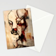Portrait of a Distracted Man Stationery Cards