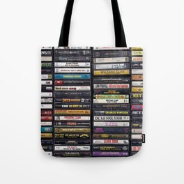 Old 80's & 90's Hip Hop Tapes Tote Bag