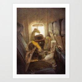 Flight of the Bumblebee Art Print