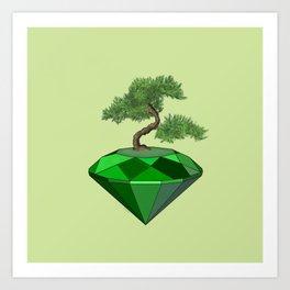 Bonzai tree Art Print