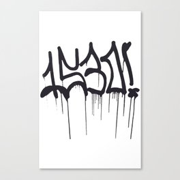 1530 Graffiti Handstyle Canvas Print
