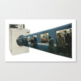 Public Transport Canvas Print
