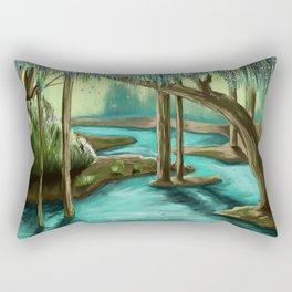 Tranquil Forest Rectangular Pillow