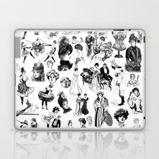 Good Girl Bad Girl Laptop & iPad Skin