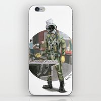 pilot iPhone & iPod Skins featuring Pilot by Kalegiro