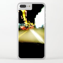 Drive by WIPjenni Clear iPhone Case
