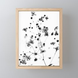vintage flowers Framed Mini Art Print