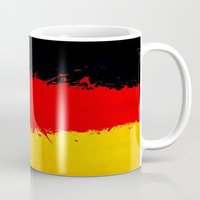 germany Mugs featuring Germany by Nicklas Gustafsson