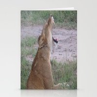 simba Stationery Cards featuring Sleepy Simba by Fer Ruz