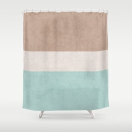 beach classic Shower Curtain